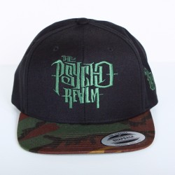 Casquette Dyse One Psycho Realm noir/camou snapback