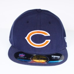 Casquette New Era CHIBEA Chicago Bears bleue 59 fifty