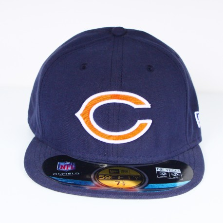 Casquette New Era CHIBEA Chicago Bears bleu 59 fifty