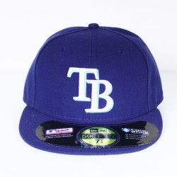 Casquette New Era Tampa bay rays bleu 59 fifty