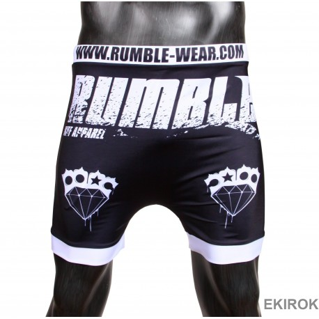 Short Collant de Boxe Rumble