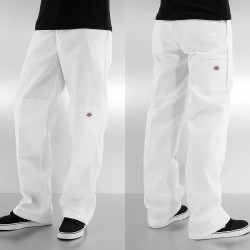 Pantalon Dickies Double Knee Work Blanc