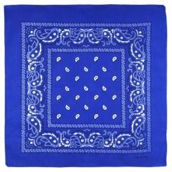 Bandana Bleu Roi