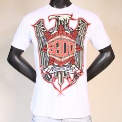 T-shirt SGCC Eagle blanc MMA