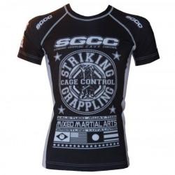 Rashguard SGCC noir MMA