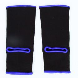 Chevilleres de Boxe noir liseret violet