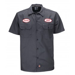 Chemise Dickies Rotonda South Charcoal Grey