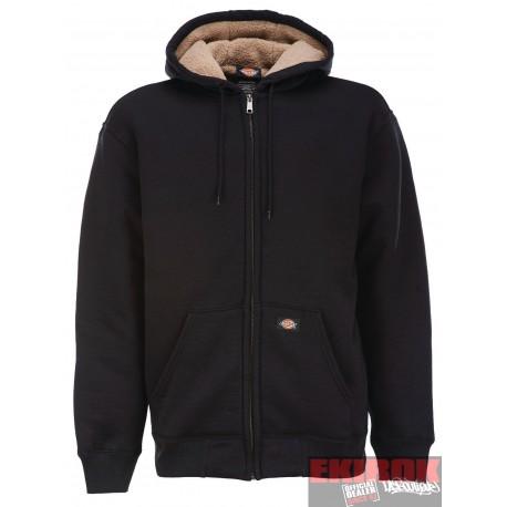 Veste sweat Dickies Sherpa Fleece Doublure molletonnée noir