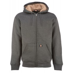 Veste sweat Dickies Sherpa Fleece Doublure molletonnée gris