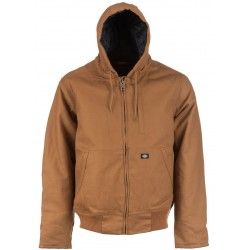 Blouson à capuche Dickies Jefferson Marron