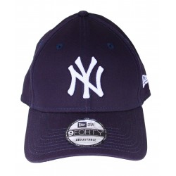 Casquette New Era NY rose logo blanc