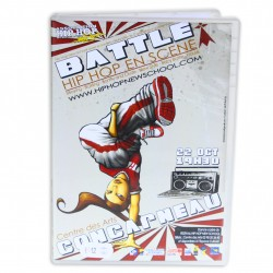 DVD Battle Hip Hop en scene