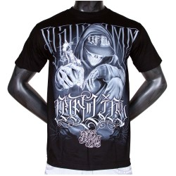 T-shirt Noir Dyse One Tattoo