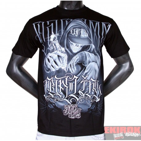 Tee Shirt Noir Dyse One Tattoo