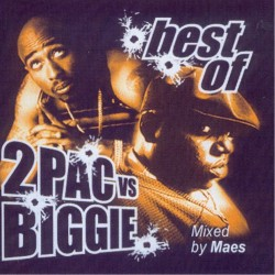 CD mixtape 2pac VS Biggie best of