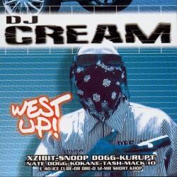 CD Mixtape DJ CREAM West Up