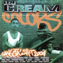 CD DJ CREAM Gangsta Shit