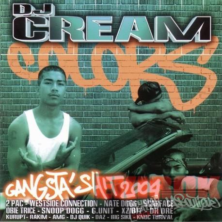 CD DJ CREAM Gangsta Shit