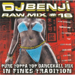 CD mixtape DJ BENJI Raw Mix 14