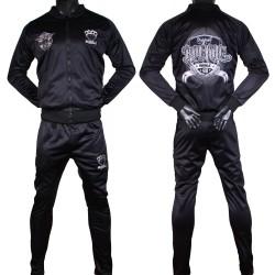 Ensemble Survêtement Rumble noir manche grise polyester