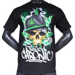 T-shirt Dyse One Skull Chronic black