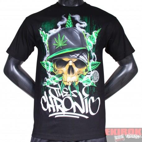 T-shirt Dyse One Skull Chronic black