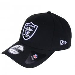 Casquette New Era Raiders noir ajustable
