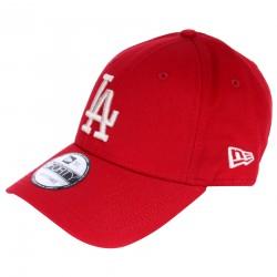 Casquette New Era LA rouge logo blanc ajustable