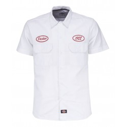 Chemise Dickies Rotonda South White