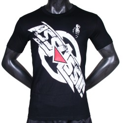 T-shirt Assassin logo cracké