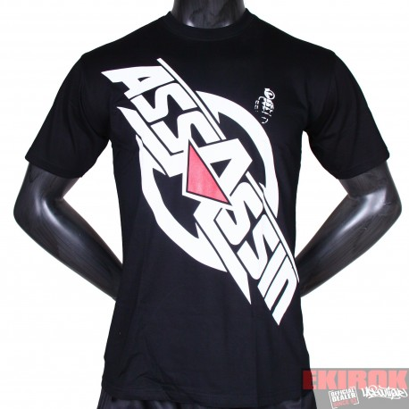 T-shirt Assassin logo cracké