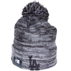Bonnet à pompon New Era NY Yankees kaki chiné