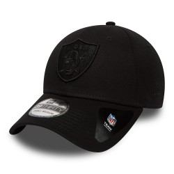 Casquette New Era Raiders noir ajustable