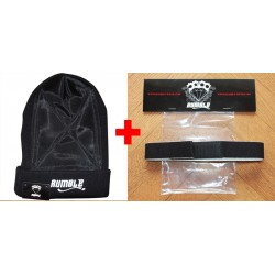 Bonnet Rumble Headspin Noir + Elastic