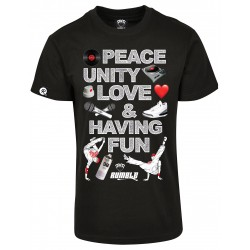 T-shirt Rumble PEACE