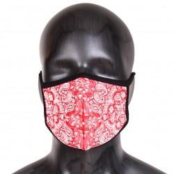 Masque Elastique Bandana Noir Rumble Avec Filtre PM 2.5