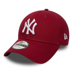 Casquette New Era NY Bordeau