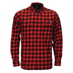 Chemise Dickies Jacksonville rouge & noir