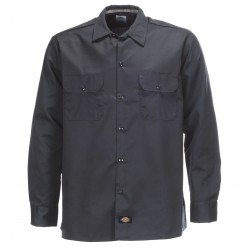 Chemise Dickies Long Sleeve Original Charcoal Grey