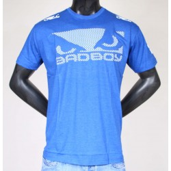 Tee Shirt Bad Boy Logo Bleu