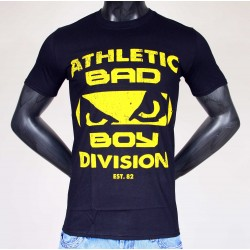 Tee Shirt Bad Boy Logo Athletic Noir