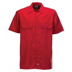 Chemise Dickies Work Shirt Original Red