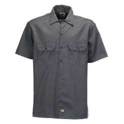 Chemise Dickies Work Shirt Original Dark Grey