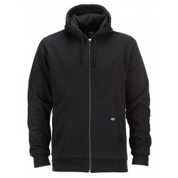 Sweat à capuche Dickies fermeture zippée Kingsley Black
