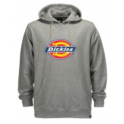 Sweat à Capuche Dickies Logo Nevada Gris