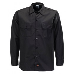 Chemise Dickies Long Sleeve Original Black