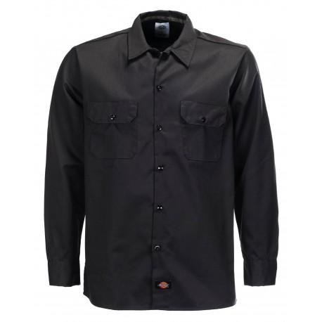 Chemise Dickies Long Sleeve Original Black