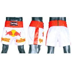 Short Boxe Thai Twins Redbull